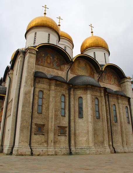 berömda byggnader i moskva